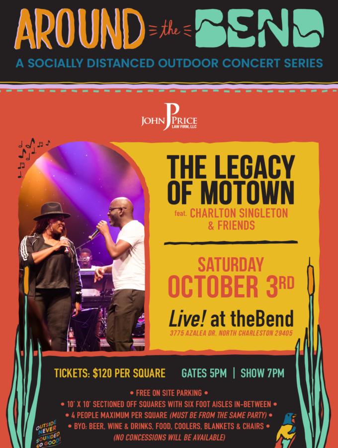 10/3 Legends of Motown featuring Charlton Singleton & Friends