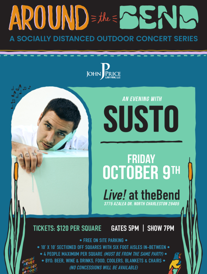 SOLD OUT - 10/9 SUSTO