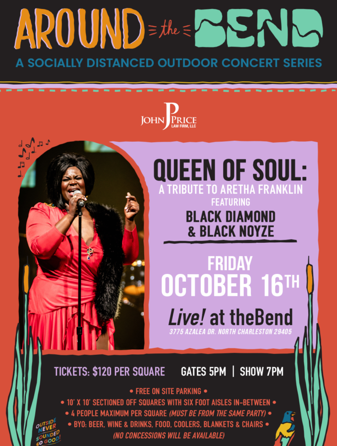 10/16 Queen of Soul: A Tribute to Aretha Franklin featuring Black Diamond & Black Noyze