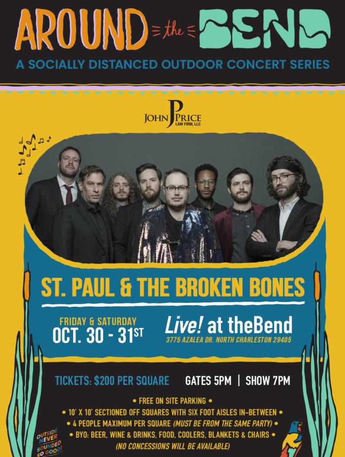 SOLD OUT - 10/30 St. Paul & The Broken Bones