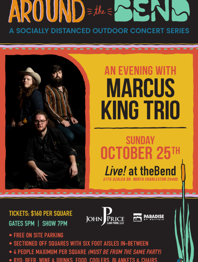 SOLD OUT - 10/25 Marcus King Trio