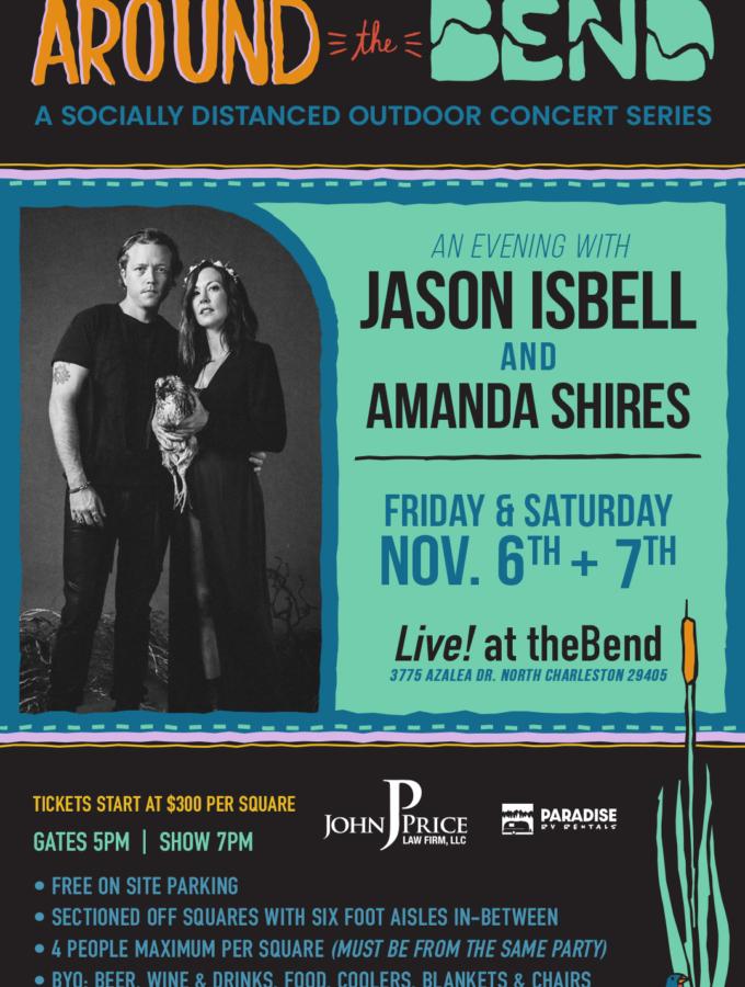 SOLD OUT - 11/6 Jason Isbell & Amanda Shires